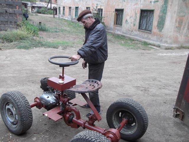 Третье колесо к мотоблоку - Дизельные мотоблоки в Луцке.